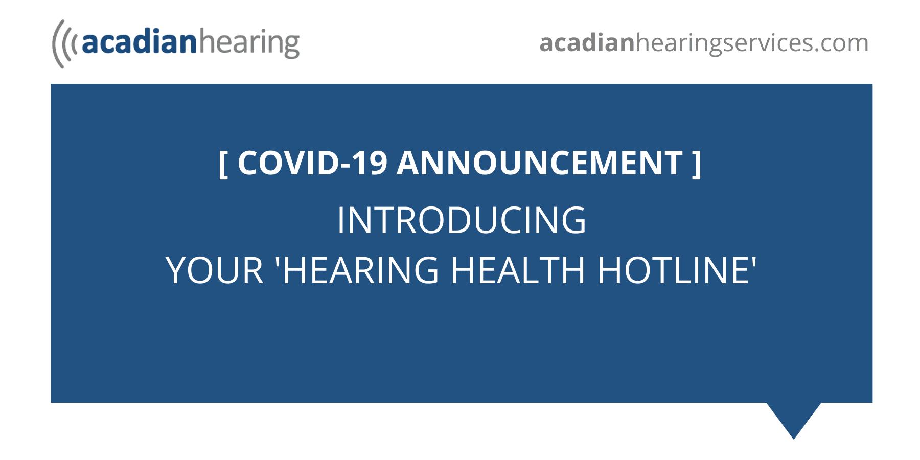 COVID-19 ACADIANA
